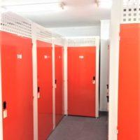 名古屋の格安室内トランクルーム、レンタルストレージ24堀田 店舗サーキュレーター画像